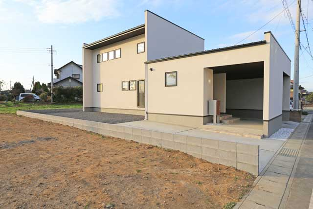 新築住宅施工例